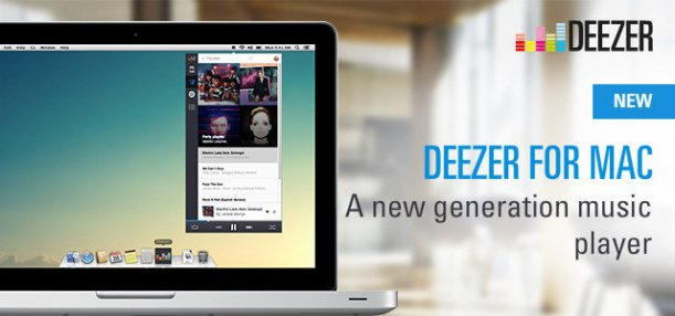 Deezer for Mac
